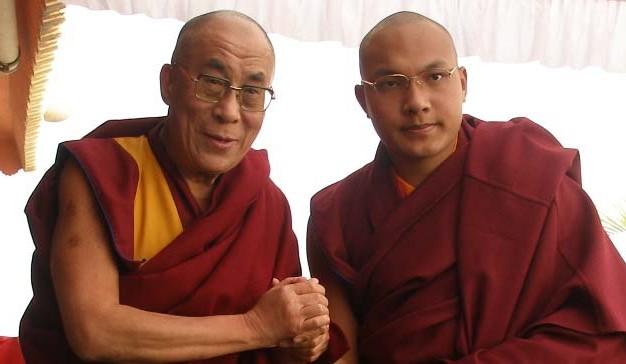Dalai und Karmapa Lama